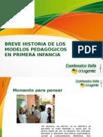 Breve Historia de Los Modelos Pedagógicos