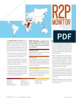 R2P Monitor, Issue 21, May 2015