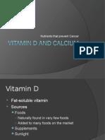 Vitamin D and Calcium PPT