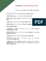 Mestrado Letras UFAL