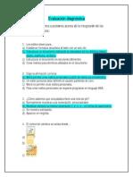 Evaluación diagnóstica