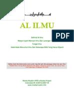 Definisi Al Ilmu Masyru'iyyah Mencari Ilmu Dan