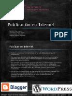 Publicacion en Internet