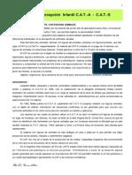 6.CAT a Y S - MEecanismos Defensa, Indicadores Psicopat. Temas (CA)
