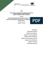 Fase Investigacion Capacitacion Docente[