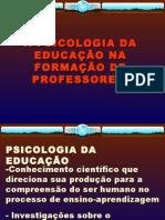 a psicologia da educação e a formação de professores