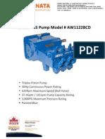 American 435 Pump Info