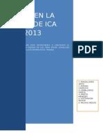 Analisis Socio Economico Laboral en La Region de Ica 1