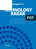 Technology Radar May 2015