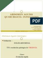 Abdomen Agudo Quirúrgico Infeccioso