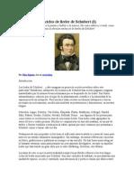Los Ciclos de Lieder de Schubert