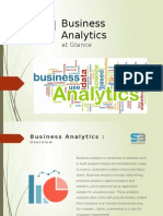 SA Technologies - Business Analytic Services