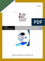 GuÃ-A Control de Calidad Reporteador HCV