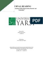 Journal Reading ADHD