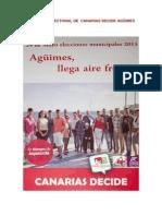 Programa Electoral Canarias Decide Agüimes 2015