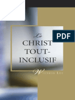watchman Nee.Le Christ Tout Inclusif