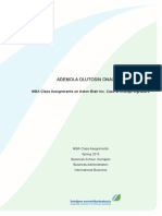 Aston Blair Case Assignment & Change Signature _ Organisational Development Task (Mba)_ Ademola Onashile k1401453