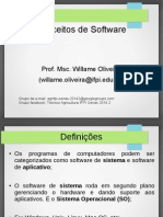 Sistema Operacional - Conceitos de Software