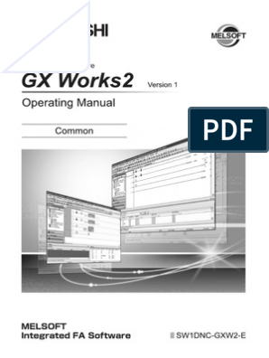 GX Works 2 Operating Manual Common | Programmable Logic Controller