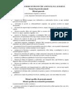 Norme de Protecţie a Muncii in industria alimentara
