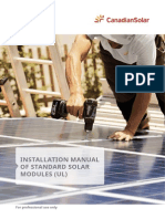 Installation Manual of Standard Solar Modules UL En