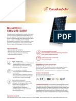 Datasheet Quartech CS6V-M En