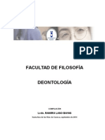 Filosofia de Deontologia