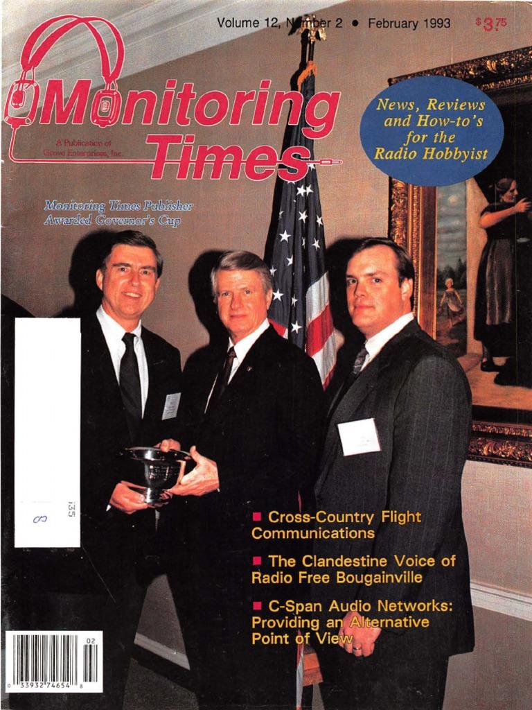 02 February 1993 Transponder Aeronautics Telecommunications Photograph Of Ron J39s 24hourcmos 4060 Timer Circuit Board Engineering