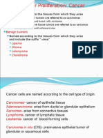 Cellular Proliferation Cancer