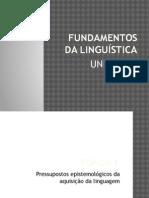 FUNDAMENTOS DA LINGUÍSTICA - Unidade 2.pptx