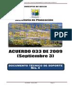 Acuerdo 033 de 2009 POT