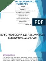 Espectroscopia en Resonancia Nuclear