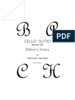 Bach 6 Cello Suites Without Slurs Yokoyama 2013 Notes