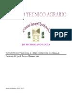 Appunti Di Tecnica Di Produzione Animale - Indice