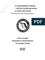 2002 FLORIDA GREENBOOK-Manual for Design Construction and Ma