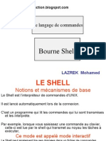 BourneShell(L'unix)