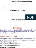 Interface C/Unix