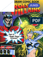How to Draw Comic Book Heroes and Villains Part 2 Zap! Pow! Crunch!