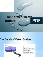 The Earth_s Water Budget