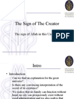 The Sign of the Creator