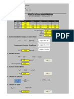 Dosificacion Metodo ACI