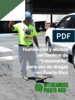 Humillaciones y Abusos en Centros de Tratamiento Para Uso de Drogas PR