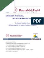 MOD1. El Mantenimiento Preventivo-Predictivo-Correctivo (MGPR) Rev3. Presentación