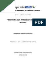 Analisis Estructural de Texto Estados Financieros.