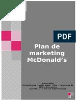 121537700 Plan de Marketing McDonald s