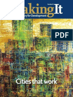 Making It #18 - Cities that work