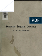 Ottoman -Turkish Language