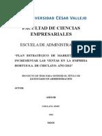 Proyecto de Fabrica de Café Jaén