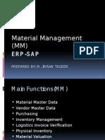 Material Management ERP-SAP