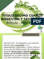 Reg Willi Legislacionde Minasjulian Art . 216-248